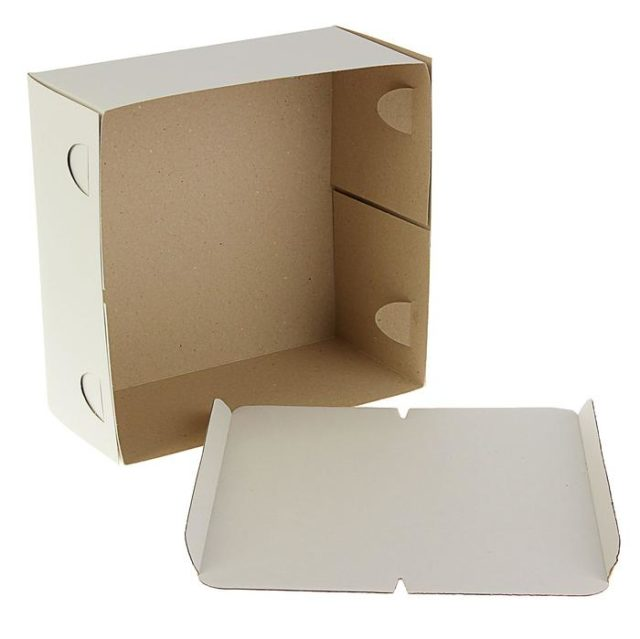 Коробка для торта 28×28×14 см