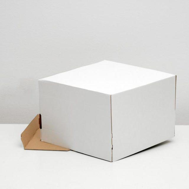 Коробка для торта 30×30×20 см