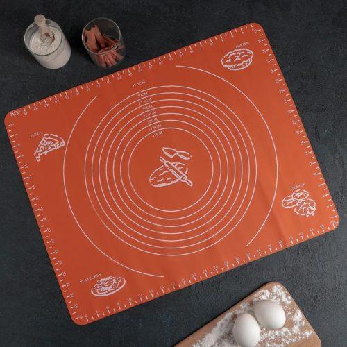 Силиконовый коврик с разлиновкой «Эрме»