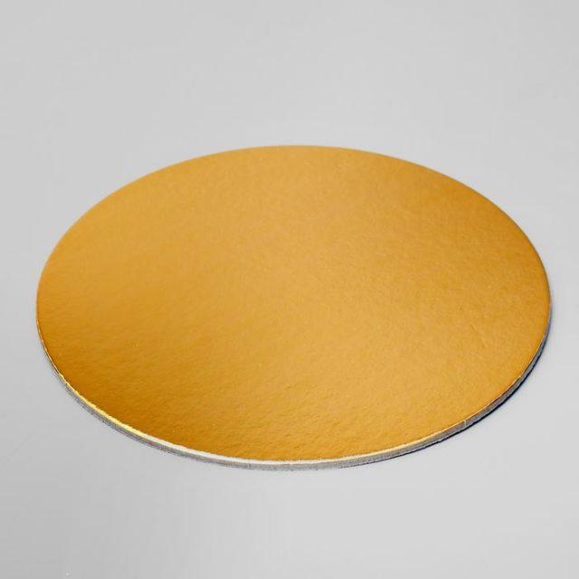 Подложка для торта усиленная d=18 см h=3,2 мм